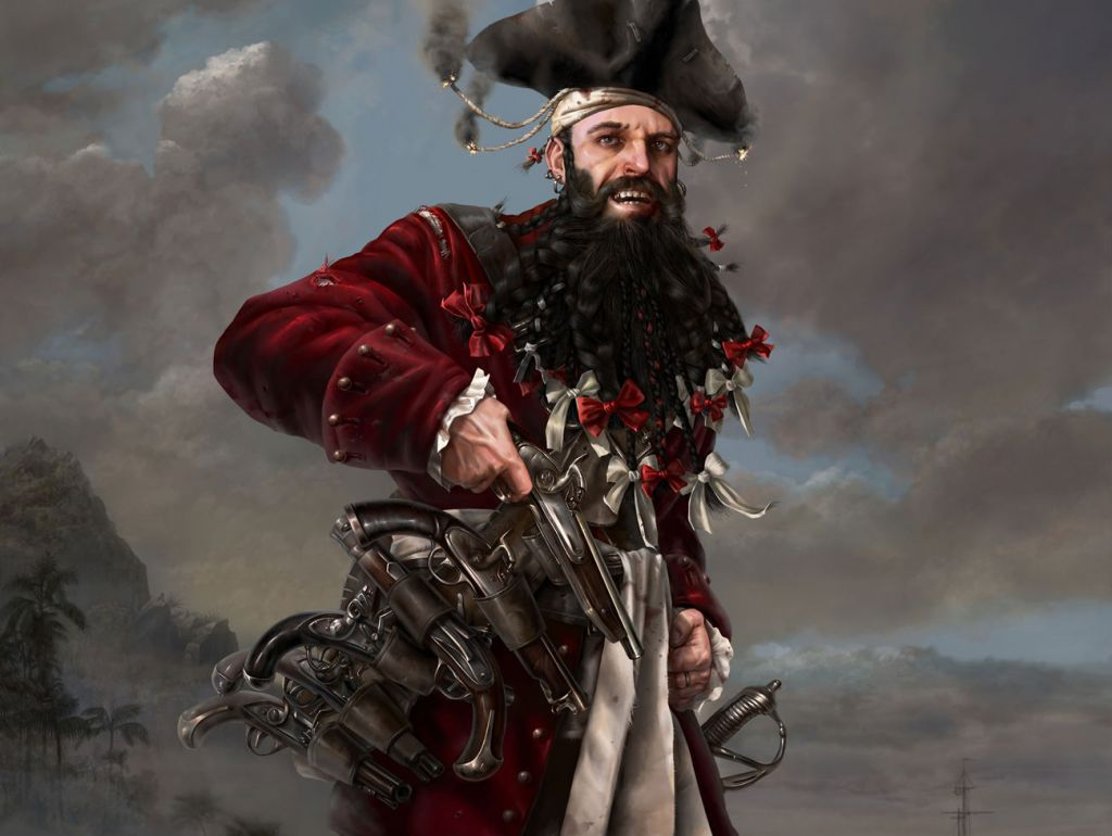 История капитана Черная Борода (Эдвард Тич)